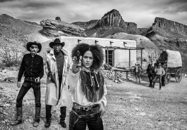David Yarrow, 'Game of Pistols', 2020, Photography, Black and white print, Isabella Garrucho Fine Art