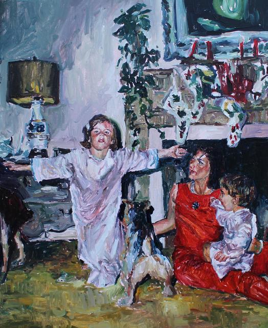 , 'Sateen Annunciation (Kennedy Christmas),' 2019, 99 Loop Gallery