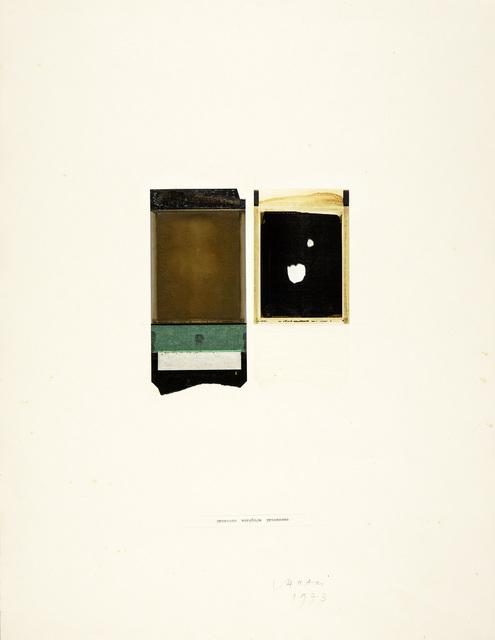 Franco Vaccari, 'Processo', 1973, Martini Studio d'Arte