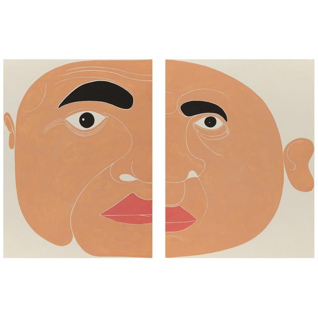Giovanni Garcia-Fenech, '2 Panel Seft-portrait', 2012, Postmasters Gallery
