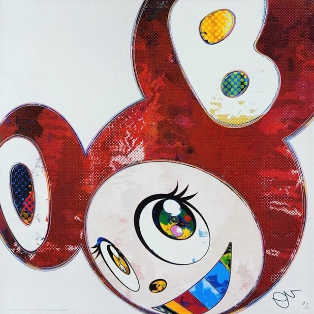 Takashi Murakami, 'And Then... (Red)', 2016, michael lisi / contemporary art