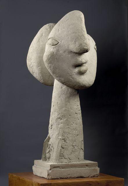 , 'Tête de femme au chignon, Boisgeloup ,' 1931 (Plaster), April, July 1937, Musée Picasso Paris