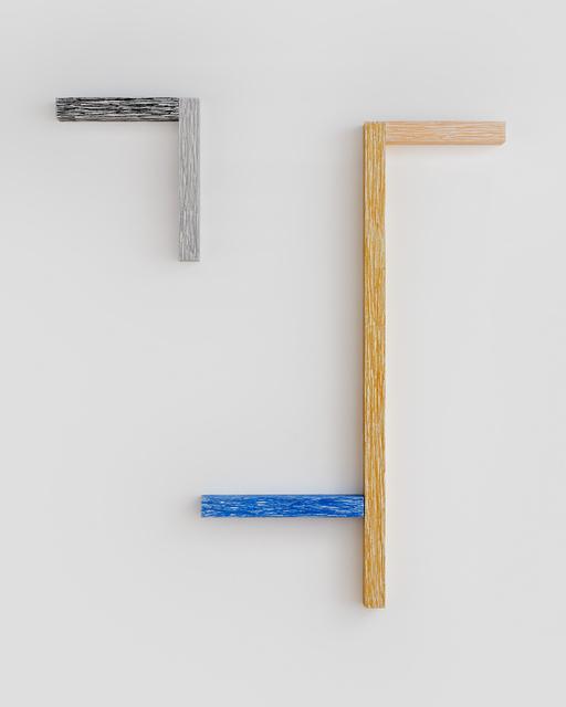 , 'Yvonne (Lazy Mirror Face),' 2015, Rachel Uffner Gallery