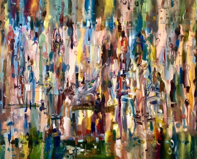 , 'Happy Days,' 2010, Art Village Gallery
