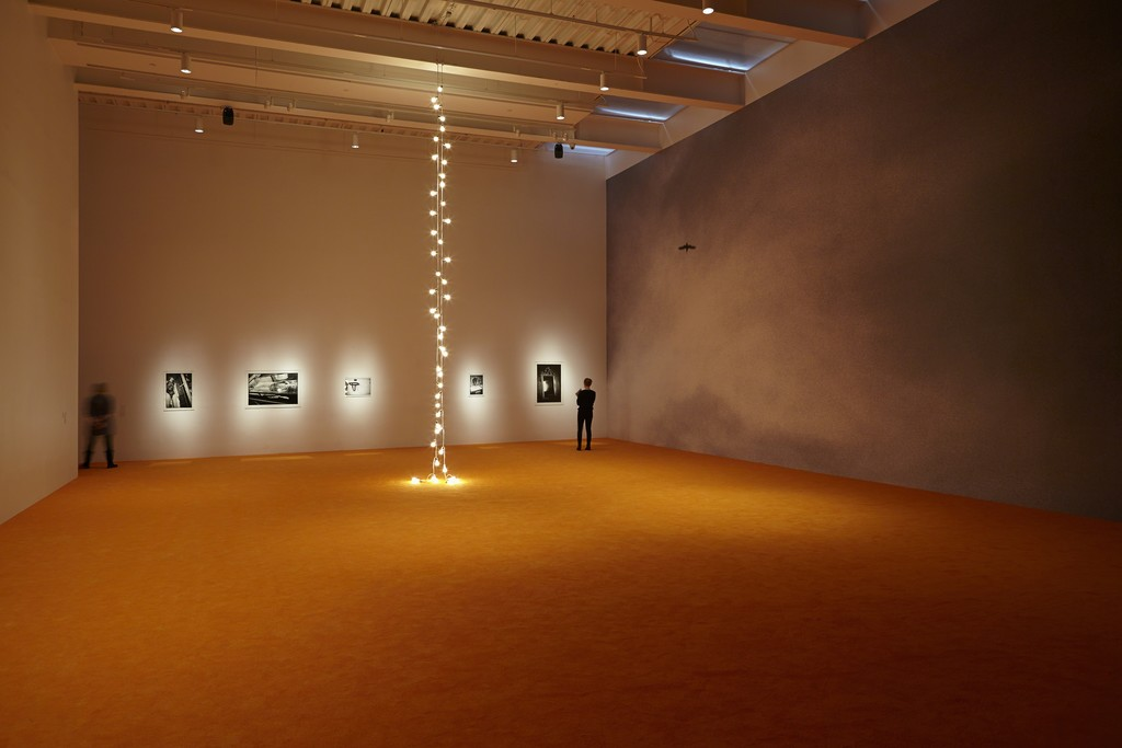 "Installation view, ""NYC 1993: Experimental Jet Set, Trash and No Star"""