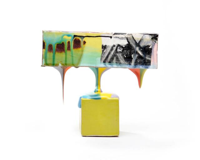Lauren Mabry, 'Molten Veil (Lime block)', 2019, Ferrin Contemporary