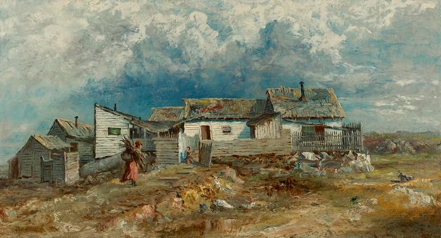 , 'Shanties in Harlem,' 1874, Questroyal Fine Art