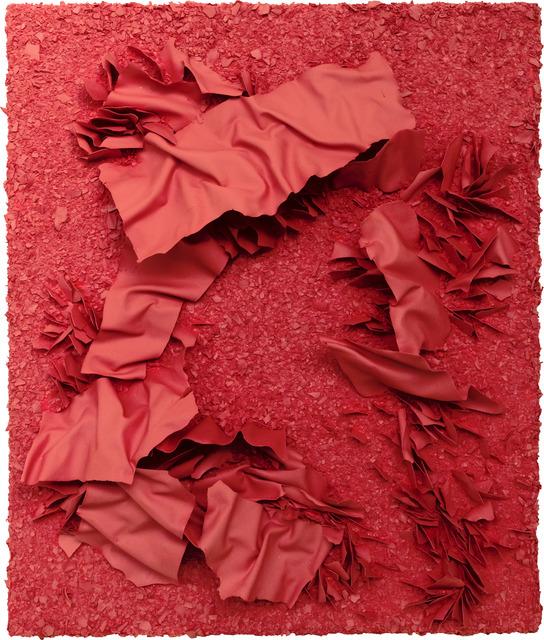 , 'Red inside red,' 2019, ART'LOFT, Lee-Bauwens Gallery
