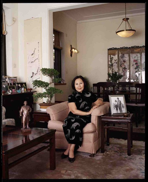 , 'Nora Sun, petite fille de Sun Yat-Sen, fondateur de la Republique chinoise, avril 2002, Shanghai 孙惠芬,中华民国创始人孙中山的孙女,2002年4月,上海,' 2002, Shanghai Gallery of Art