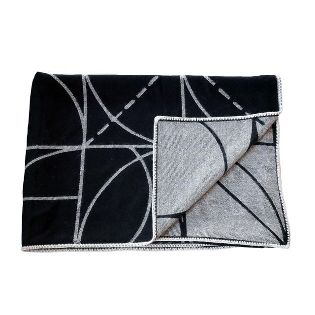 Sol LeWitt, 'Lines and Arcs Reversible Throw ', 2020, Design/Decorative Art, 100% Peruvian Alpaca fleece, Artware Editions