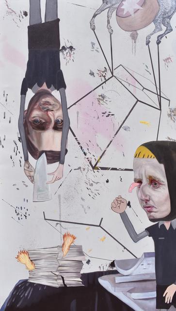 Carolina Muñoz, 'Demandas', 2019, Painting, Oil on canvas, Isabel Croxatto Galería