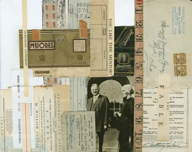 Tony Askew, 'You Like This Mentor', 2002, Drawing, Collage or other Work on Paper, Tufenkian Fine Arts