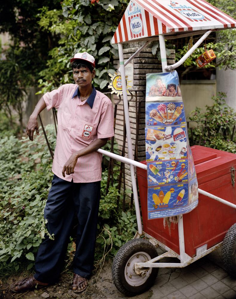 Ganesh Das, Ice Cream Man, Jodhpur Park, Kolkata
