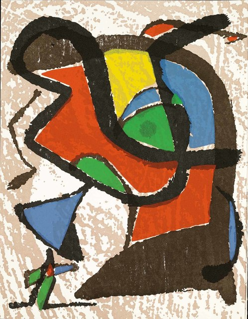 Joan Miró, 'Untitled (Miró Graveur Volume I, D.1289)', Martin Lawrence Galleries