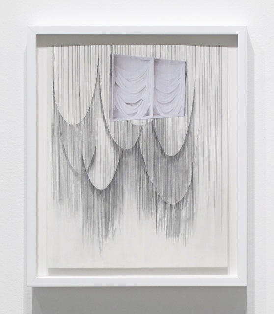 , 'Double Drape,' 2017, Inman Gallery
