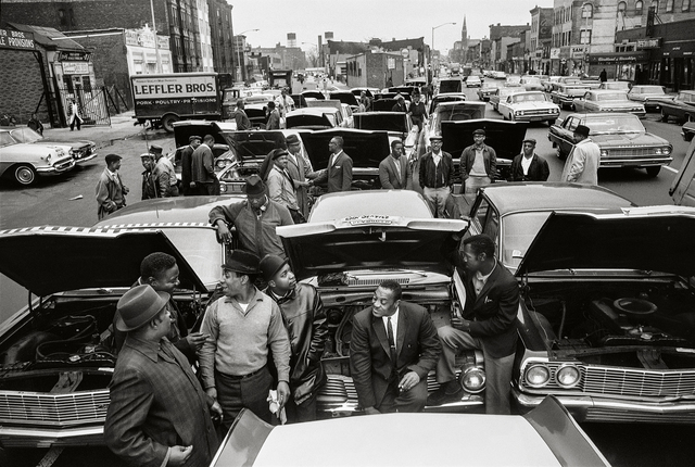 , 'Brooklyn CORE Car Stall-In,' 1964, Fahey/Klein Gallery