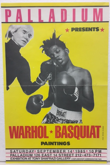 , 'Basquiat x Warhol at The Palladium,' 1985, GALLERY SHCHUKIN