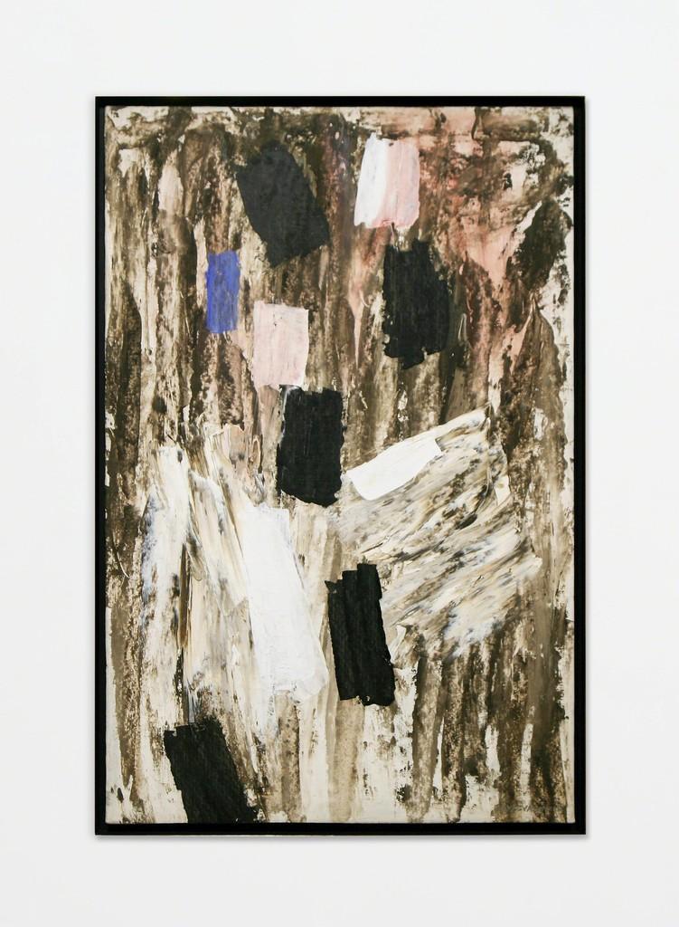 "Nina Tryggvadottir, Abstraction (NT-OL-60-10), 1960, Oil on linen, 38.38"" x 25.125"""