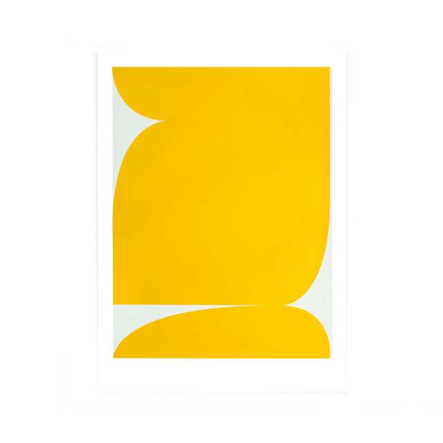 Johan Van Oeckel, 'Untitled (Yellow on light grey)', 2019, Alfa Gallery