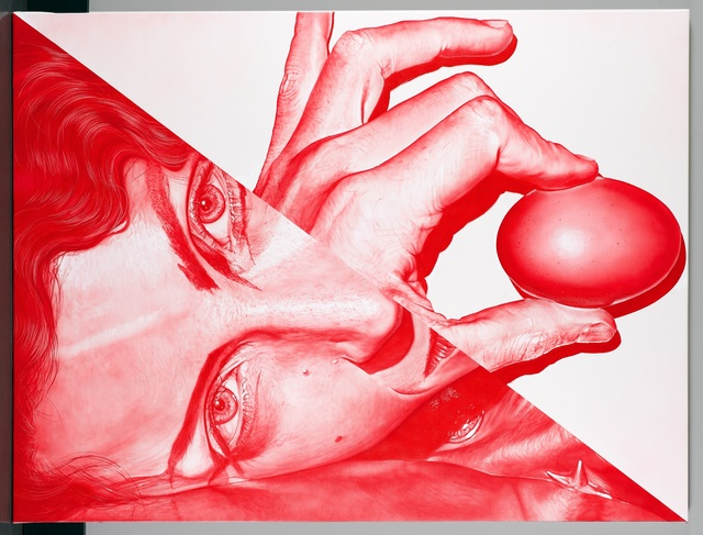 , 'Red Egg,' 2015, Lyle O. Reitzel