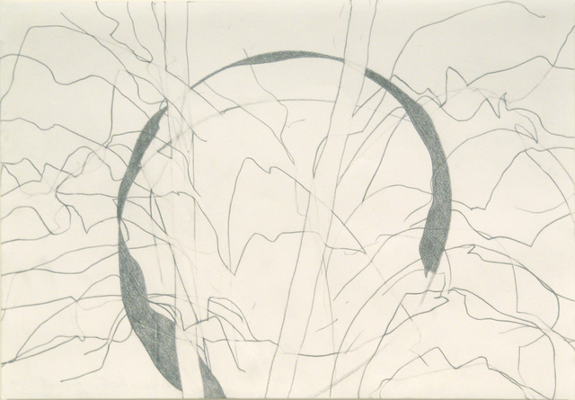 , 'Pencil Drawing 16 - Two Trees in the Snow in the Glow of an Afternoon Sun,' 2009, Bernard Jacobson Gallery