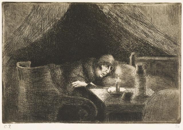 Camille Pissarro, 'Grandmother (Light Effect)', 1889, Christopher-Clark Fine Art