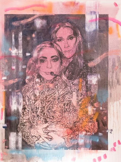 , 'Gaga and Celine ,' 2019, 99 Loop Gallery