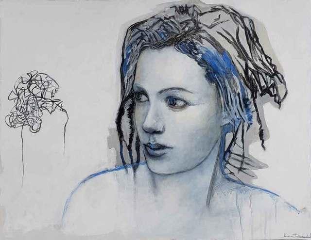 Joan Dumouchel, ' Draw me a story', 2019, Galerie Blanche