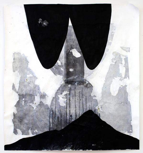 , 'It's a deep dark floating,' 2017, Galerie Krinzinger