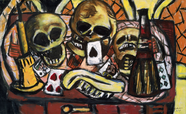 , 'Still Life with Three Skulls,' 1945, Museum of Fine Arts, Boston