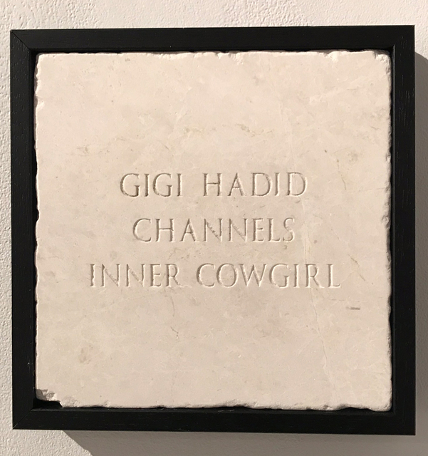 Sarah Maple, 'Gigi Hadid Channels Inner Cowgirl', 2018, The Untitled Space