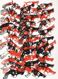 Arman, 'Bloody Guns,' 1979, Heritage Auctions: Holiday Prints & Multiples Sale