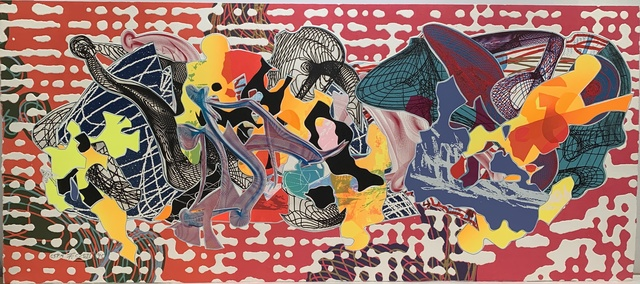 Frank Stella, 'Libertina', 1995, Print, Relief, screenprint, etching, aquatint, lithograph, engraving on white TGL handmade paper, Anders Wahlstedt Fine Art