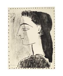 Jacqueline au mouchoir noir