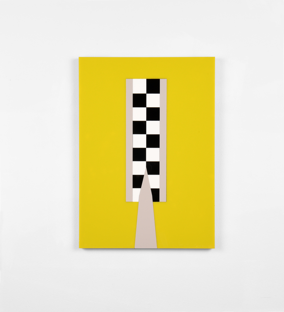 , '#4 (Safe and Sound: High Visibility),' 2017, Christine König Galerie