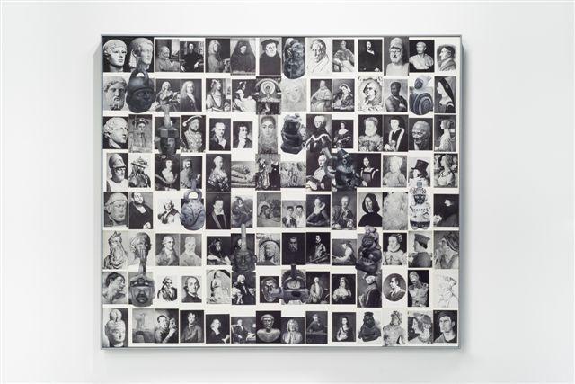 """, '""""PIEZAS SUELTAS EN LA HISTORIA  OCCIDENTAL III (RETRATOS)"""",' 2017, Galería Juana de Aizpuru"""