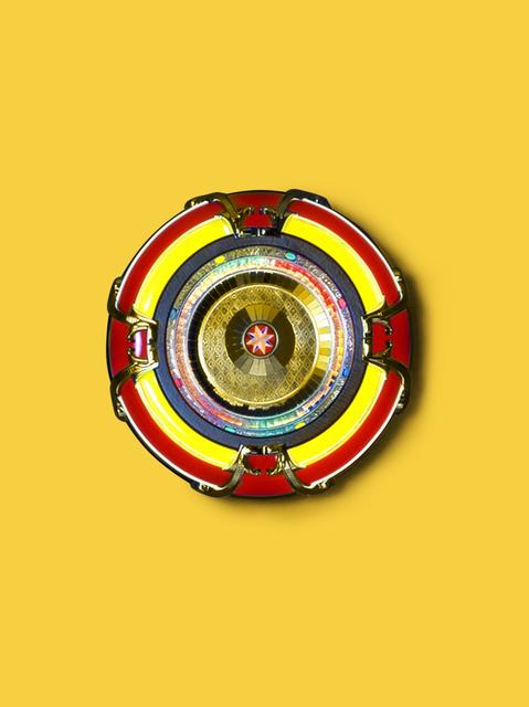 Kimsooja, 'To Breathe: Mandala (YELLOW)', 2010, KEWENIG