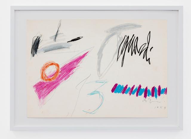, 'Senza titolo,' 1959, Galleria Bianconi