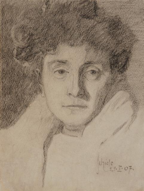 , 'Portrait of a Lady (The Artist's Mother),' 1907, Galerie St. Etienne