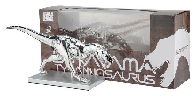 Hajime Sorayama, 'T-Rex Cyborg', 2019, Sculpture, Chrome cast vinyl, Heritage Auctions