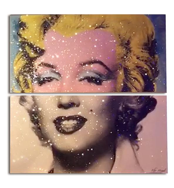 , 'Iconic Marilyn Monroe (Diptych),' 2017, Eden Fine Art