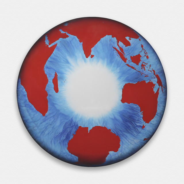 , 'The Eye of History (Polar Perspective) Red ,' 2012, Custot Gallery Dubai