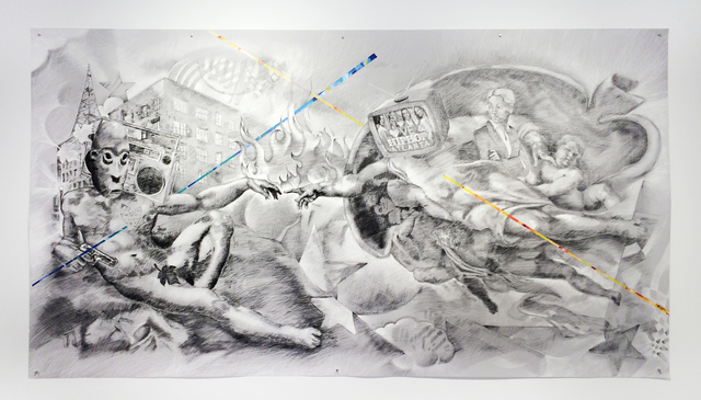 , 'The Creation of a Movement,' 2014, Octavia Art Gallery
