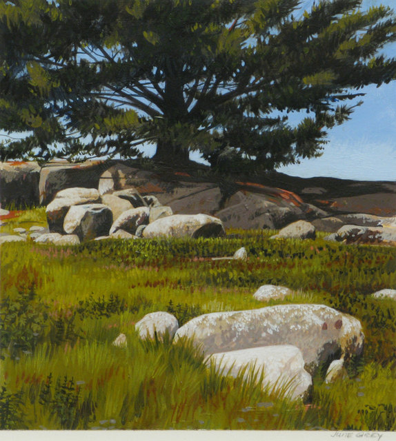 June Grey, 'Maine: Pines and Blueberries', 2011, Vose Galleries