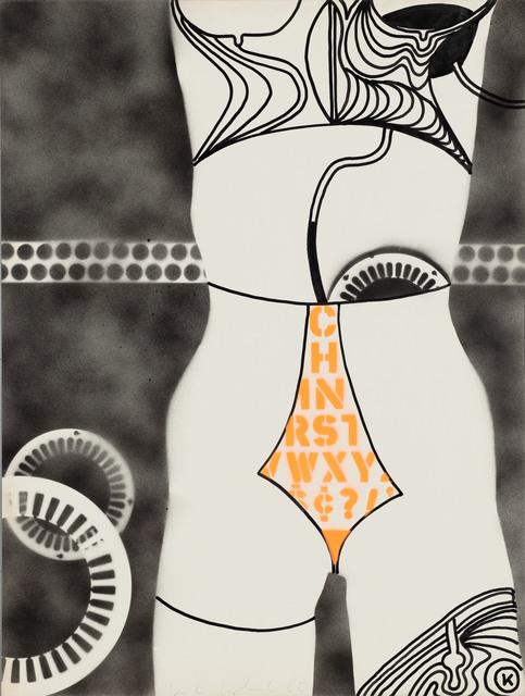 , 'Untitled (Robot),' 1965, Simone Subal