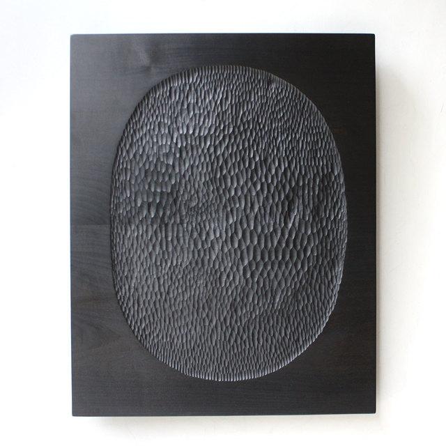 , 'Black Oval,' 2018, Patrick Parrish Gallery