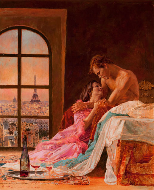 James Avati, 'A Loving Embrace', The Illustrated Gallery