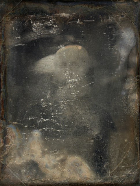 Michael Huey, 'Garibaldi, Based on a damaged 1850s/60s Daguerreotype by Mathew Brady', 2017, Galerie Reinthaler