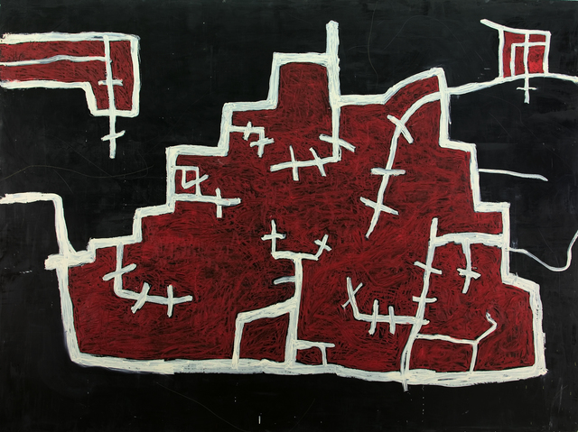 Chuck Webster, 'Untitled (black and red)', 2012, Saatchi Gallery Benefit Auction