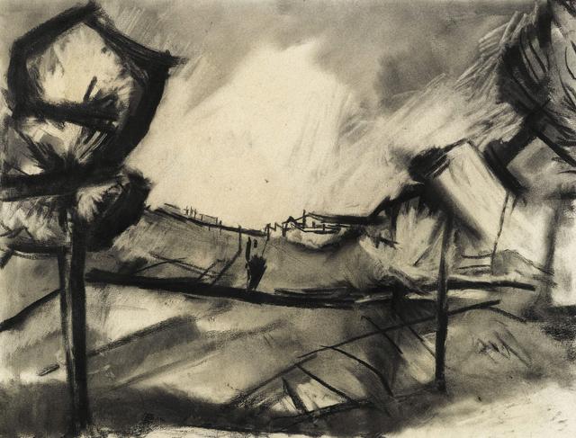 , 'Sunlight in the valley, Ronda,' , Piano Nobile